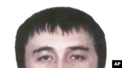 An image of Rustam Makhmudov distributed by Interpol