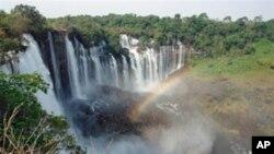 Kalandula Water Falls, Malanje, Angola