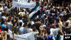Manifestations anti-Assad à Homs (25 mai 2012)