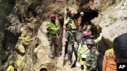 Indonesia Gold Mine Collapse