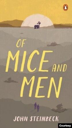 Từ trên xuống: Of Mice and Men, của John Steinbeck bản tiếng Anh; Des souris et des hommes bản tiếng Pháp; Của Chuột và Người, bản dịch của Hoàng Ngọc Khôi và Nguyễn Phúc Bửu Tập, Nxb Văn Sài Gòn 1967. Từ sau 1975, bản tiếng Việt này đã được tái bản nhiều lần ở Việt Nam.
