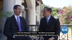 VOA Interviews Juan Guaidó