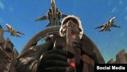 صحنه ای از انیمیشن نبرد خلیج فارس