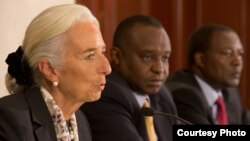 国际货币基金组织总干事拉加德