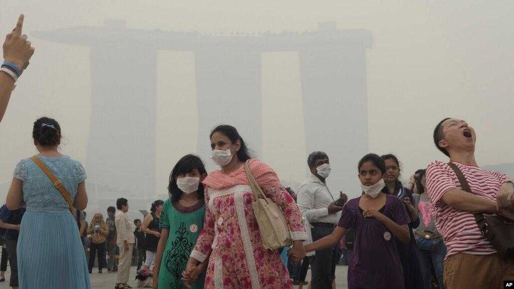 Indonesia Ratifikasi Perjanjian Kabut Asap Awal 2014 Kebakaran Hutan Menyelimuti