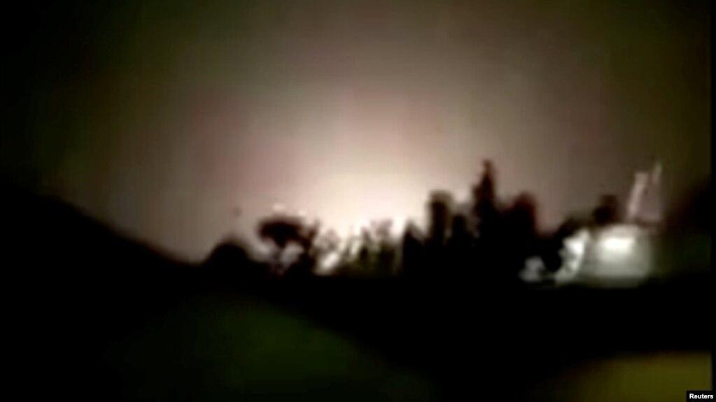 Vụ nổ được cho là tại căn cứ không quân Ain al-Asad ở Iraq vào ngày 8/1/2020.