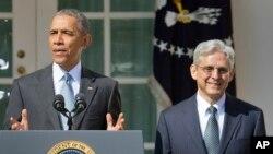 باراک اوباما مریک گارلند را برای پرکردن کرسی خالی دیوان عالی آمریکا معرفی کرده است.