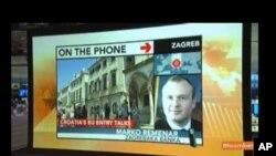Bloomberg TV emitirao petominutni prilog o hrvatskom okončavanju pristupnih pregovora