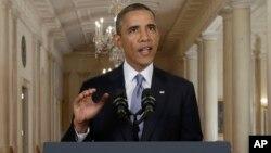 Presiden AS Barack Obama berencana menyampaikan pidato penting membahas perjanjian untuk mengekang program nuklir Iran (foto: dok).