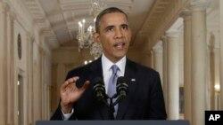 奧巴馬總發表全國電視講話