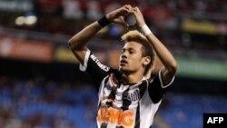 Penyerang tengah klub Santos Brazil, Neymar Da Silva memutuskan bergabung dengan klub Barcelona (foto: dok).