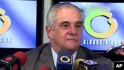 Guillermo Zuloaga, owner of Globovisión, was recently arrested. (file)