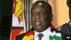President Emmerson Mnangangwa Announces Robert Mugabe's Death 2