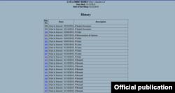 İki hafta önce 495 sıra numarasıyla kayıtlara geçen gizlilik kararı olan belge sonrasında bu hafta da 496 kayıt numarasıyla yine gizlilik kararı olan bir belge daha kayıtlara eklendi.