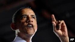 Tổng thống Barack Obama phát biểu tại Jacksonville Port, Florida, ngày 25/7/2013.