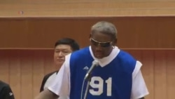"Dennis Rodman canta el ""Happy Birthday"""