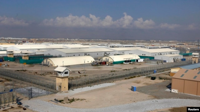 A general view of Bagram prison, north of Kabul, September 10, 2012.