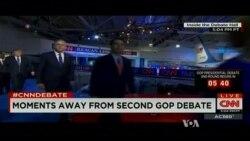 Rivals Pressure Trump in Second Republican Debate