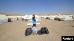 伊拉克境內的敘利亞難民營