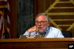 资料照片: 共和党参议员波尔参加参议院情报委员会的一次听证会。(2020年5月5日)