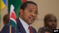Le président tanzanien Jakaya Kikwete