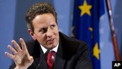 ທ່ານ Timothy Geithner ລັດຖະມົນຕີການເງິນສະຫະລັດ