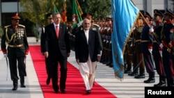 فایل فوټو - د ترکي صدر رجب طیب اردګان او افغان صدر اشرف غني - کابل