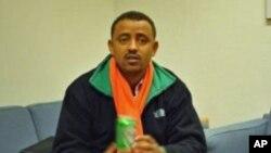 Argaw Ashine jornalista etíope e correspondente em Adis-Abeba do jornal queniano Daily Nation, forçado a fugir do país