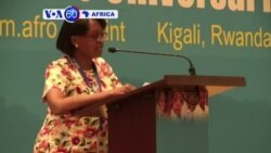 VOA60 Africa - Rwanda: Kigali holds its first World Health Organization Forum