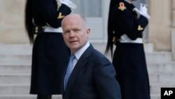 英國外交大臣黑格