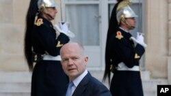 İngiltere Dışişleri Bakanı William Hague