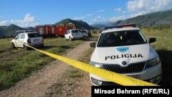 Mjesto nesreće u južnom dijelu Mostara