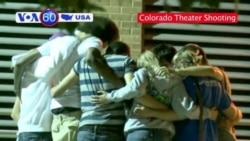 VOA60 USA - Movie Theater Shooting - 2pm
