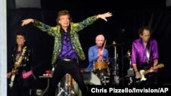 Nhóm nhạc The Rolling Stones biểu diễn ở Pasadena, California, ngày 22-08-2019.
