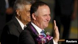 Perdana Menteri Selandia Baru, John Key (foto: dok). John Key menjadi PM Selandia Baru pertama yang mengunjungi Fiji sejak kudeta militer tahun 2006.