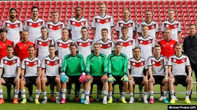 Đức là 1 trong các đội hàng đầu của 32 đội vào World Cup.