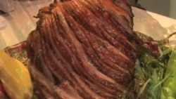 Ham is Symbol of Virginia Town
