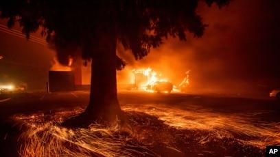 Wildfire at Midnight