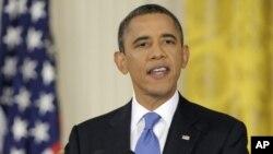 10月6号美国总统奥巴马在白宫新闻发布会上讲话