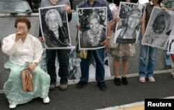 Former comfort woman Lee Yong-soo