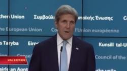 Ngoại trưởng Kerry: Thổ Nhĩ Kỳ đừng 'đi quá xa' trong việc vãn hồi trật tự