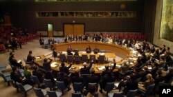 Suasana sidang Dewan Keamanan PBB (Foto: dok). DK PBB akan mengadakan pemungutan suara terkait sanksi atas percobaan nuklir Korea Utara, Kamis (7/3).