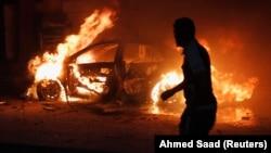 Jedan od brojnih bombaških napada u Bagdadu ove godine