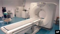 سی ٹی سکین کی مشین