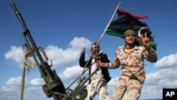 Lực lượng dân quân Libya tại thủ đô Tripoli.