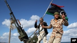 Dân quân vũ trang ở Tripoli