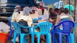 Moto ya minei azwami na coronavirus na Kinshasa