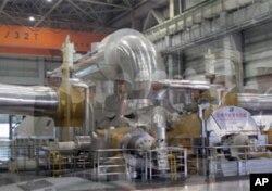 上海某发电厂的发电设备