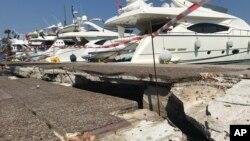 Последствия землетрясения. Остров Кос, Греция. 21 июля 2017 г.