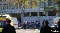 На фото: Місце події у Керчі